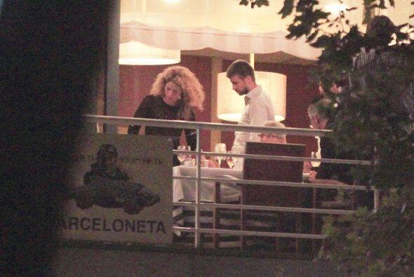 Shakira festejó el cumpleaños de su papá con una cena en Barcelona.