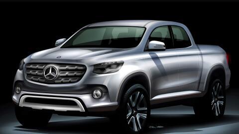 Mercedes presentaría su pickup este mismo año