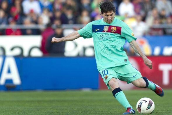 Messi ejecutó el tiro libre que terminó en la apertura del marcador.