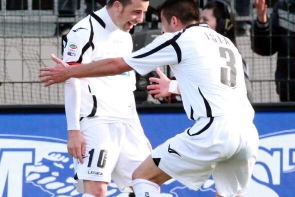 El 'Toto' sigue aumentando su racha goleadora con el Udinese.