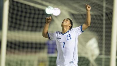 Michaell Chirinos anotó el segundo gol de Honduras.
