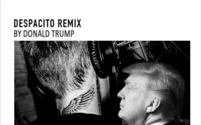 Montaje de Trump cantando 'Despacito'.