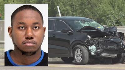 Identifican al sospechoso de atropellar mortalmente a oficial de Dallas que escoltaba cortejo fúnebre