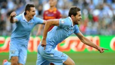 El bosnio Senad Lulic marcó el gol del título, único tanto en esta final...