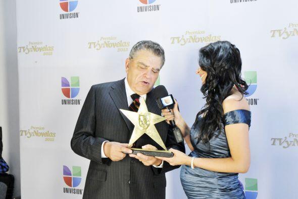 El chileno agradeció a los premios TVyNovelas por tenerlo en cuenta.