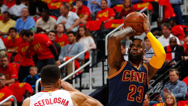Cleveland barrió la serie ante Atlanta