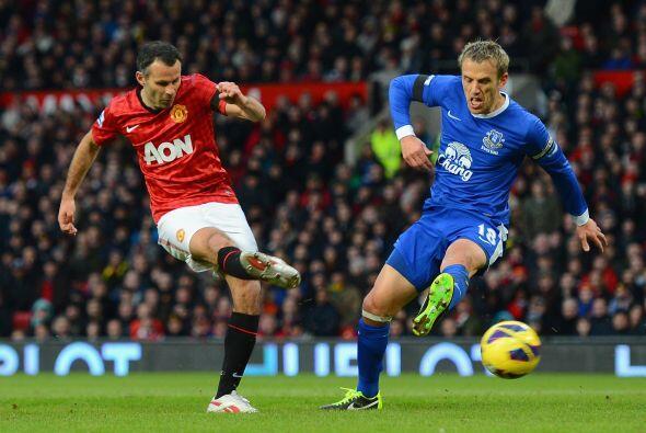 A los jugadores del United no les importó quién estuviera en las tribuna...