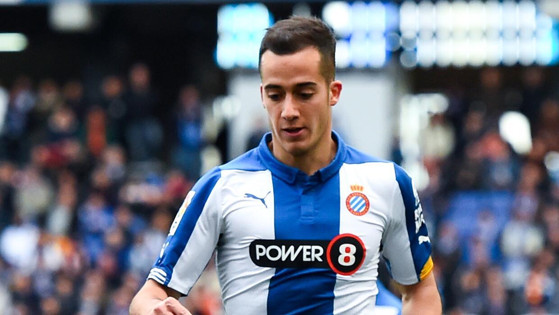 Lucas Vázquez jugaba en el Espanyol