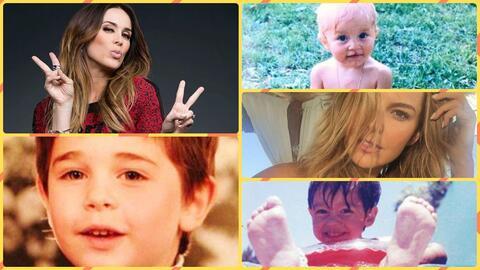 Descubre cómo se veían los famosos de telenovela en su inf...