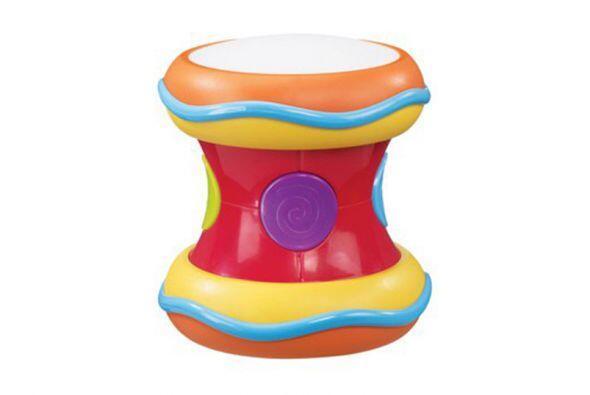 Tambor. Tu hijo se sorprenderá cuando suene por primera vez este tambor,...