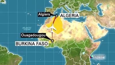 Avión con 110 pasajeros abordo habría chocado en África