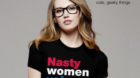 La marca Fishbiscuit Design anima a votar con sus camisetas para nasty w...