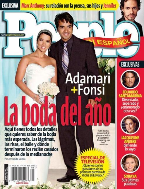 Adamari López Luis Fonsi