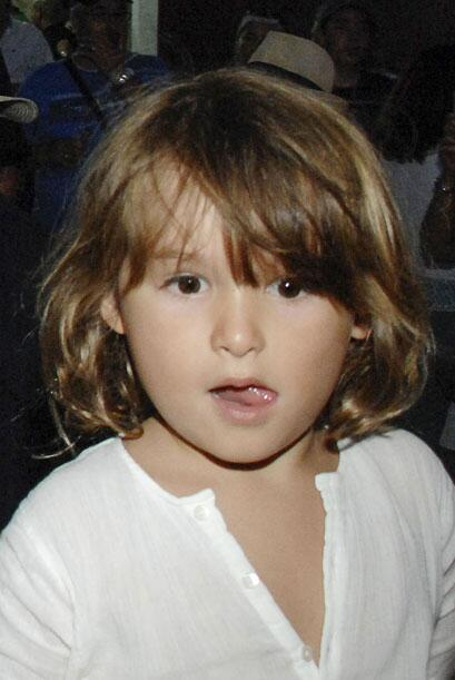 Nico, el hijo de Paulina y Colate