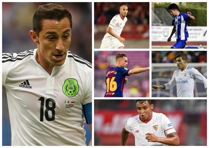 Guardado y otros 19 jugadores para seguir de cerca en La Liga de España...