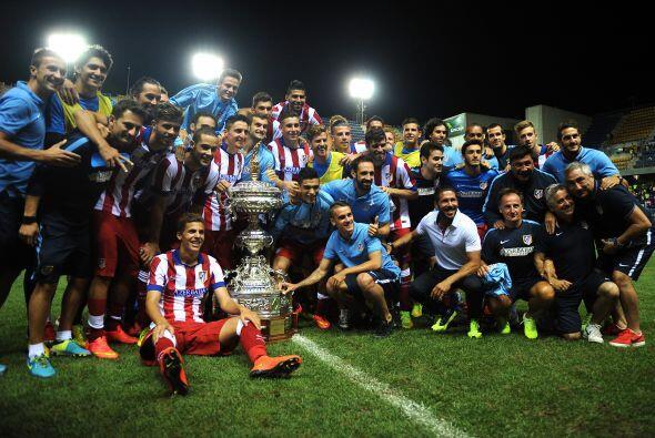 EL Atlético de Madrid derrotó 2-0 a la Sampdoria en la fin...