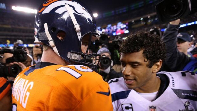 Peyton Manning y Russell Wilson se verán las caras en la semana 1 de la...