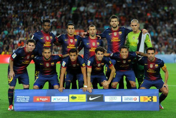 Barcelona disputó en su cancha el partido que tenía en la...