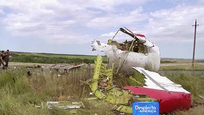 Reporte concluyó que avión de Malaysia Airlines sí fue derribado