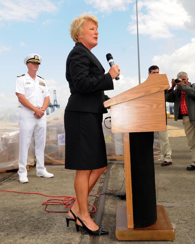 Barbara J. Stephenson, ex embajadora de EEUU en Panamá