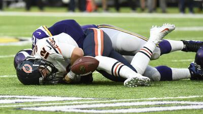 El equipo Chicago Bears se prepara para la Temporada NFL 2017 en Bourbonnais, Illinois