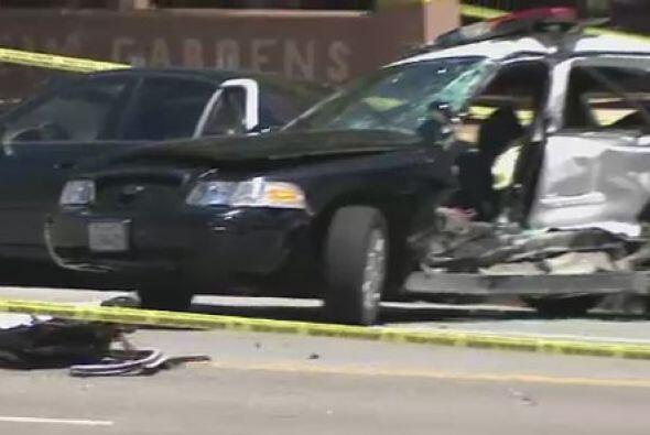 El conductor de la camioneta, resultó ser un joven de 26 años, cuya iden...