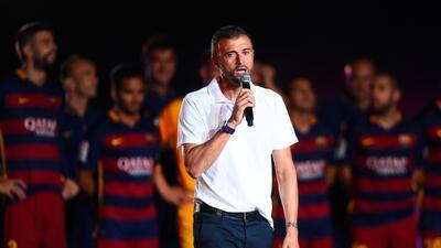 Luis Enrique se manifestó sobre la polémica que rodea a Gerard Piqué.