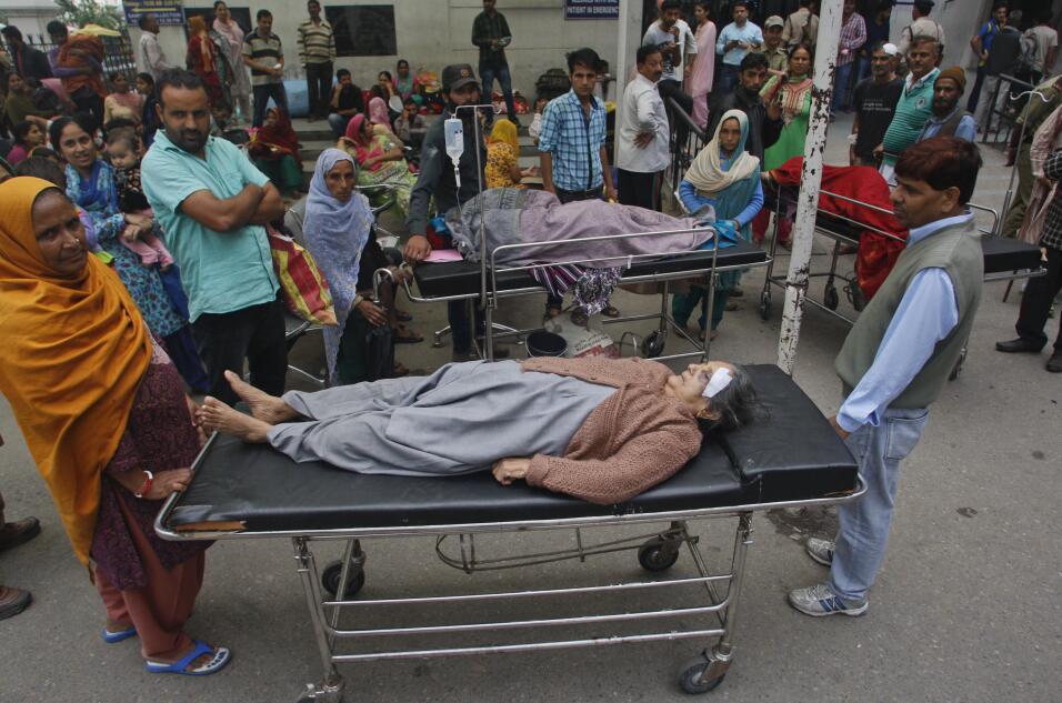 Talibanes piden ayuda para víctimas del terremoto en sur de Asia terremo...