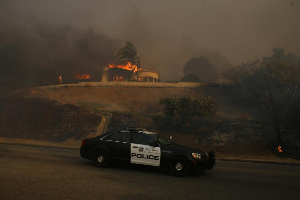 Incendio California Santa Paula