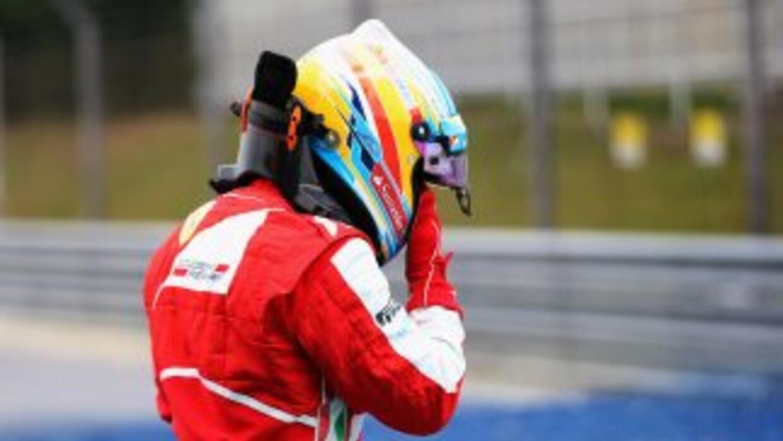 Alonso celebraba su gran premio número 200 desde su llegada a la Fórmula...