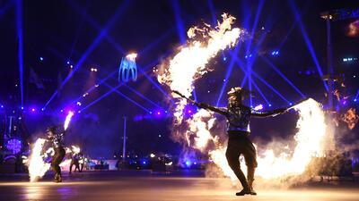 Apertura Juegos Olímpicos