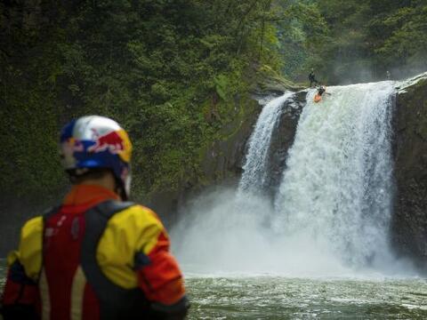 """Increíbles imágenes de la aventura """"Primer Descenso:..."""