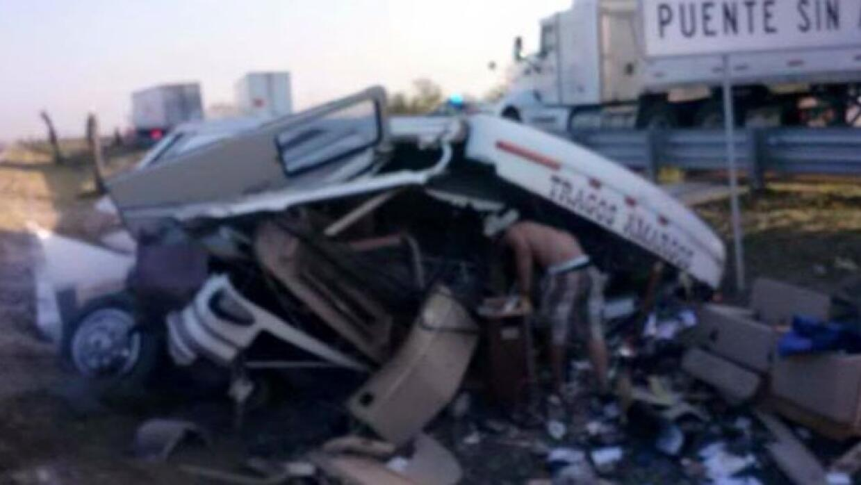 Eliseo Robles sufre accidente