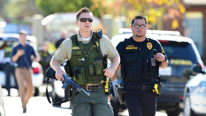 La Policía respondió al tiroteo ocurrido en San Bernardino, California.