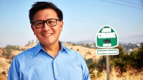 John Chiang, candidato a gobernador de California.