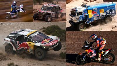 Estos son los vehículos campeones del Rally Dakar 2017 y sus pilotos