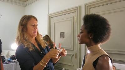 El maquillaje del desfile de Carolina Herrera en NYFW