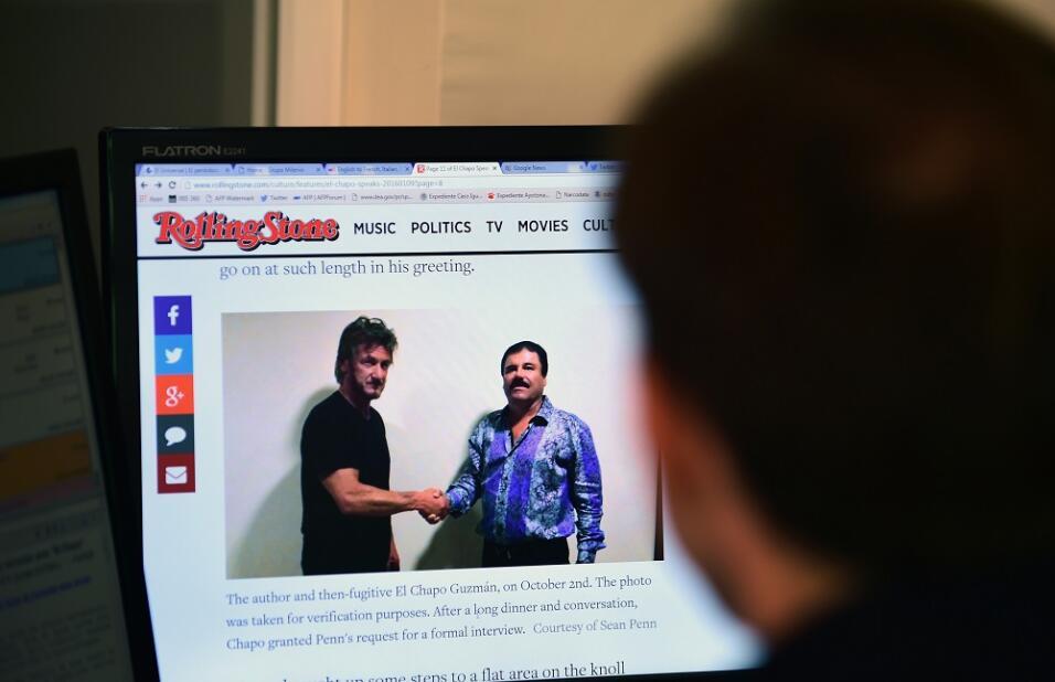Sean Penn en Rolling Stone