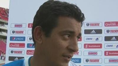 Alfredo Moreno, contento con la primer victoria de Puebla en el torneo