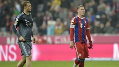 Luego de los 90 minutos, los hombres del Bayern lucían incédulos.