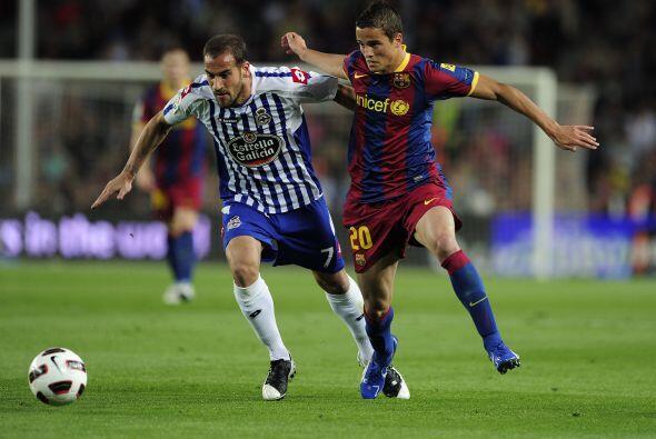 Y el Deportivo fue un equipo muy gris y sólo con ciertas jugadas al frente.