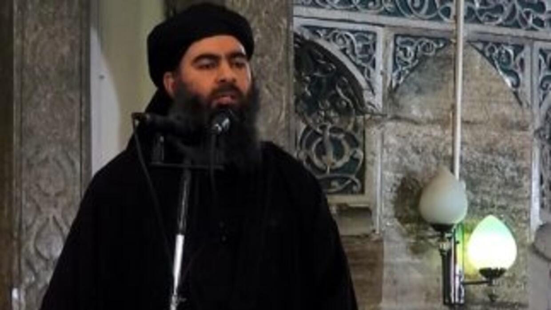 El autodenominado califa Abu Bakr al-Baghdadi, líder de ISIS.