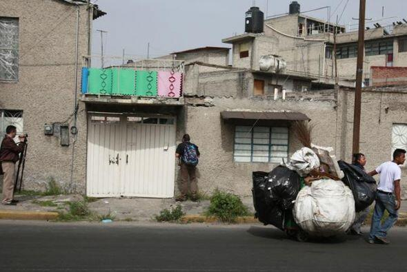 Ocultos en una vivienda del oriente de la capital mexicana fueron  encon...