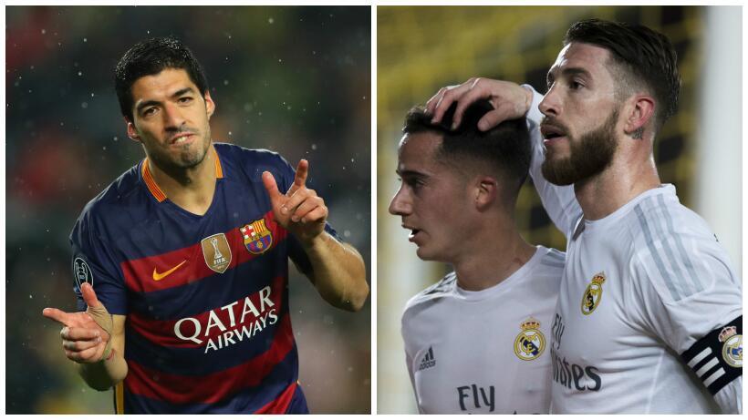 El derbi español entre Barcelona y Real Madrid parece decidido pe...