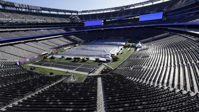 La casa que albergará el Super Bowl XLVIII (AP-NFL).