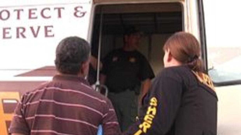 Arresto ocurrido durante el operativo