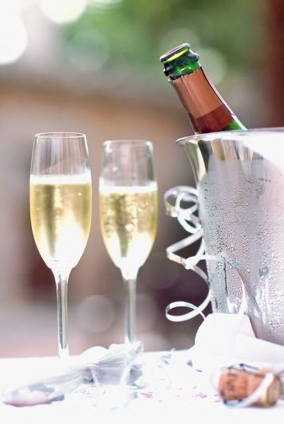 Para una boda, lo ideal es la champaña.