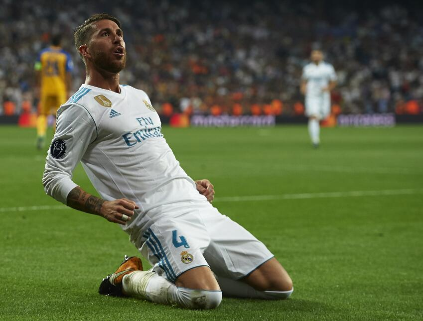 7. Sergio Ramos (Real Madrid) - Puntaje: 90