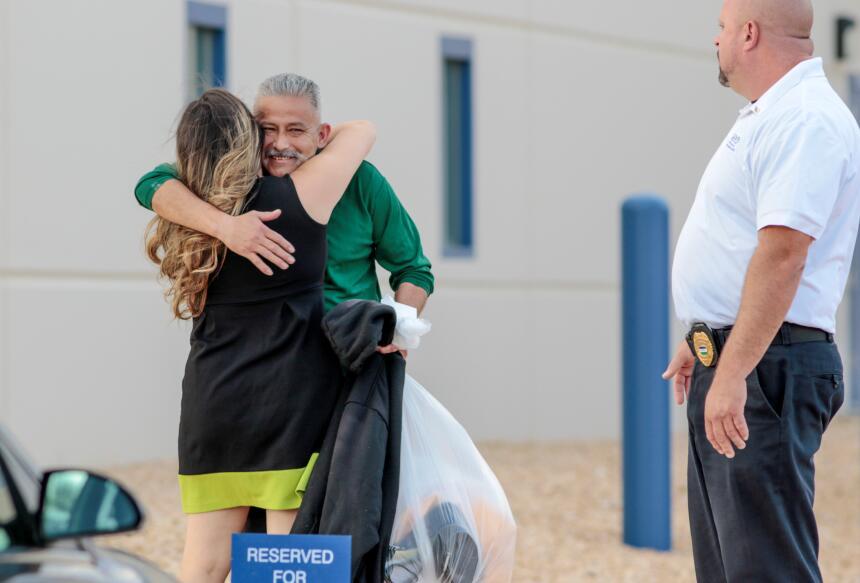 Rómulo Avélica, cuya detención por agentes de ICE en Los Ángeles febrero...