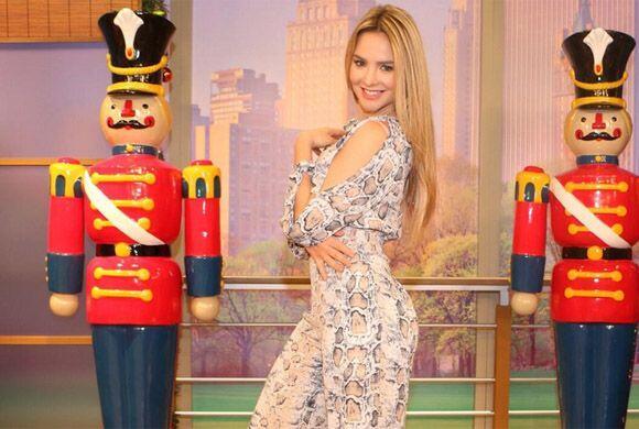 """""""Mi fotico de hoy @DespiertaAmeric espero les guste"""", mostró Ximena. (En..."""
